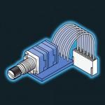 Potentiometer - 20KLog Quad Assembly
