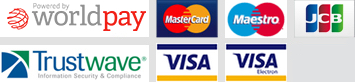We accept Visa, Visa Electron, Meastro, Mastercard, Solo, Switch, American Express and PayPal